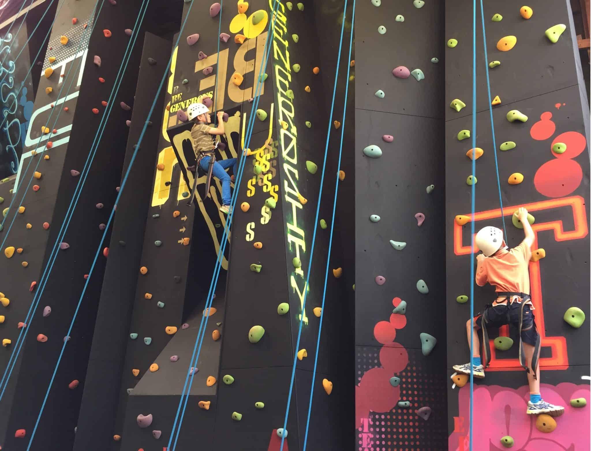 Climbing Wall QCCC Mapleton